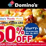 ドミノピザが半額に!キャンペーンとクーポンまとめ。